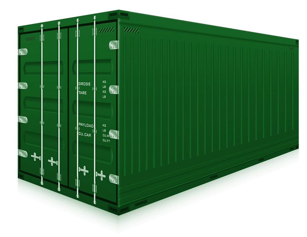 Large Container Storage